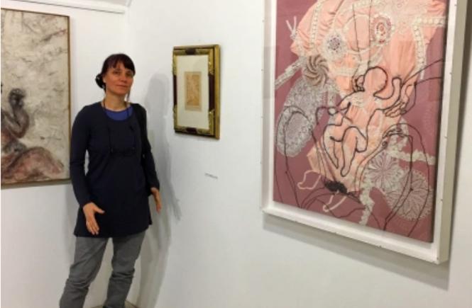 Petra Lindenmeyer Kunst Ausstellung Leutershausen